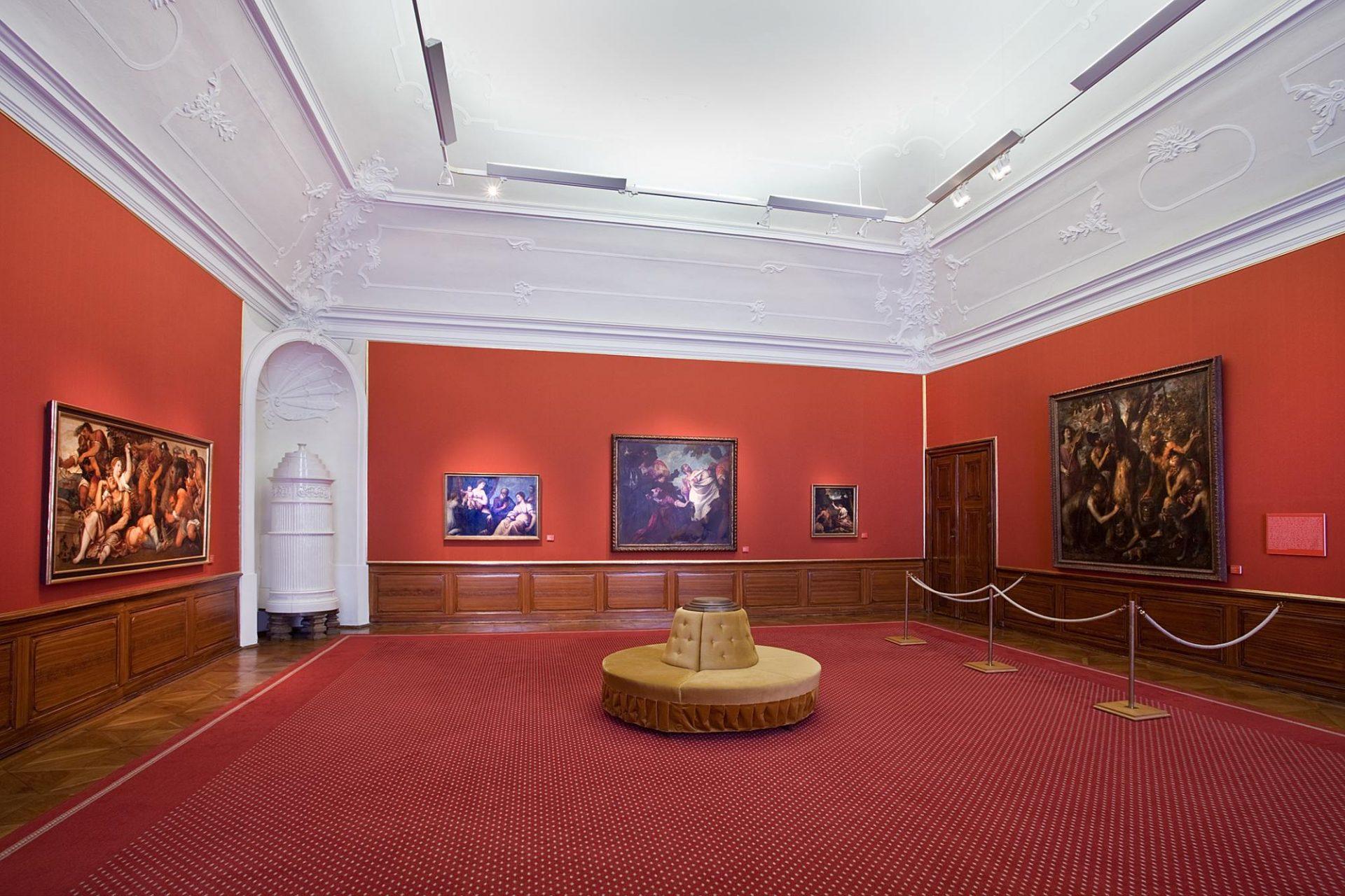 Rekonstrukce zámecké obrazárny