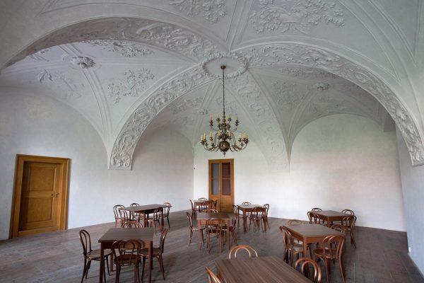 štuková místnost, Arcibiskupský zámek Kroměříž
