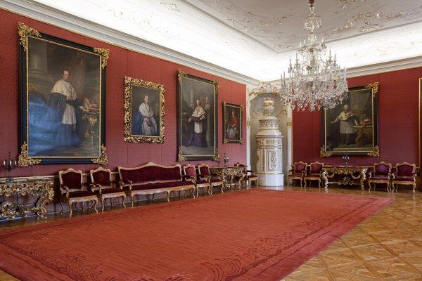 Poradní sál, Arcibiskupský zámek Kromìøíž