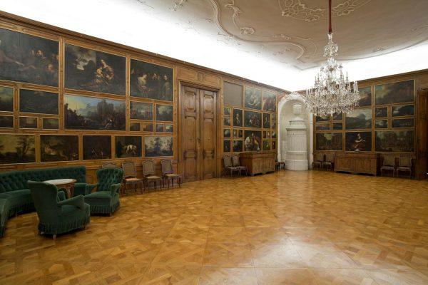 Malá jídelnal, Arcibiskupský zámek Kroměříž