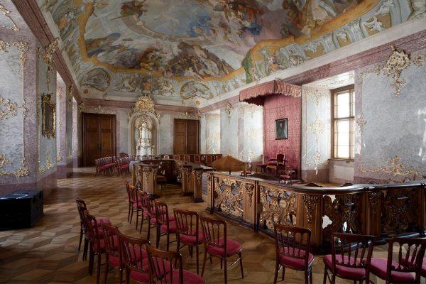 Manský sál - arcibiskupský zámek Kroměříž